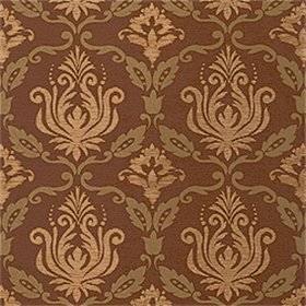 Thibaut Julie Damask Brown T4767