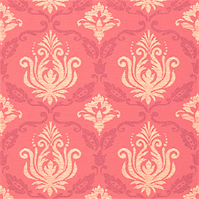 Thibaut Julie Damask Raspberry T4764