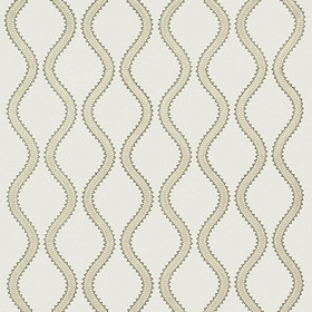 Thibaut Juniper Ogee Embroidery Neutral W764107