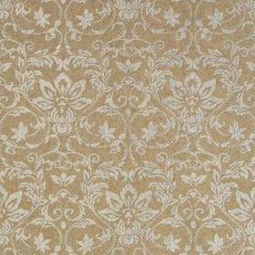 Thibaut Kalynn Metallic Silver on Taupe T10007