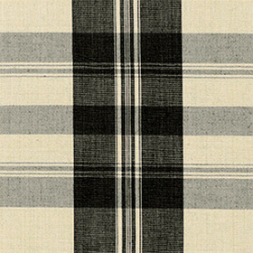 Thibaut Khimani Plaid Black W88010