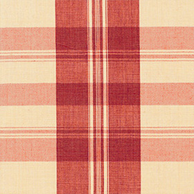 Thibaut Khimani Plaid Red W88012