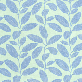 Thibaut Komodo Leaves Aqua and Blue F95712