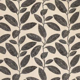 Thibaut Komodo Leaves Black and Flax F95714