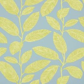 Thibaut Komodo Leaves Green and Blue T5716