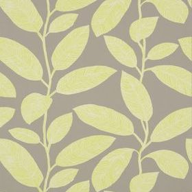 Thibaut Komodo Leaves Grey and Green T5713