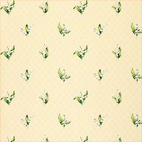 Thibaut Lily of the Valley Beige T5111