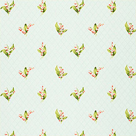 Thibaut Lily of the Valley Blue T5112