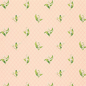 Thibaut Lily of the Valley Pink T5109