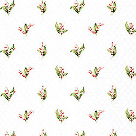 Thibaut Lily of the Valley White T5107