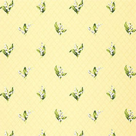 Thibaut Lily of the Valley Yellow T5113