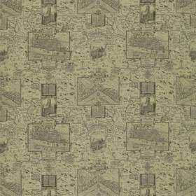 Thibaut London Map Linen F96011
