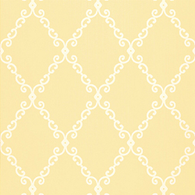 Thibaut London Trellis Yellow T4741