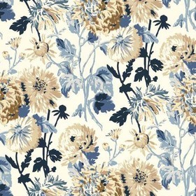 Thibaut Longwood Blue and White F94133