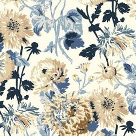 Thibaut Longwood Blue and White T4133