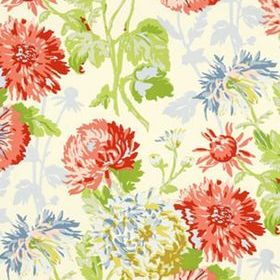 Thibaut Longwood Coral on Yellow T4132