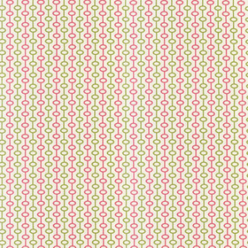 Thibaut Loops Pink and Green W72787