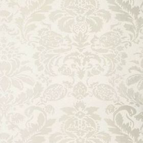 Thibaut Lyndon Damask Pearl on White T10028
