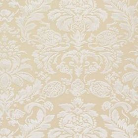 Thibaut Lyndon Damask White on Beige T10029