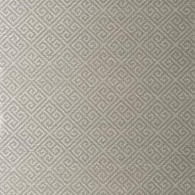 Thibaut Maze Grasscloth Metallic Grey on Silver T41199