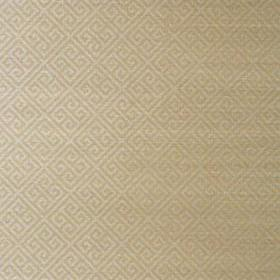 Thibaut Maze Grasscloth Metallic Silver on Taupe T41198