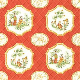 Thibaut Medley Red T6131