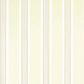Thibaut Metro Stripe Beige on White T2845