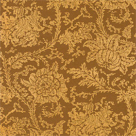 Thibaut Mizoram Metallic on Brown T7958