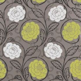 Thibaut Morristown Citrus on Silver T9187