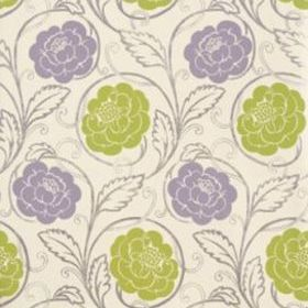 Thibaut Morristown Lavender on Cream T9188
