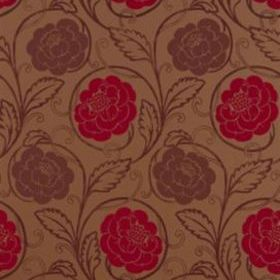 Thibaut Morristown Red with Metallic T9183