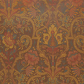 Thibaut Morton Damask Brown T6323