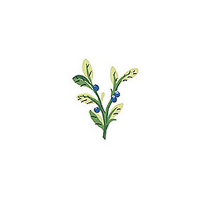 Thibaut Myrtle Blue and White T5151