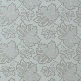 Thibaut New Canaan Metallic on Aqua T9247