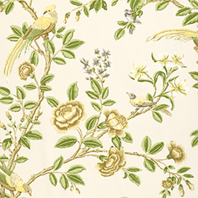 Thibaut Newman Beige and Green T4703