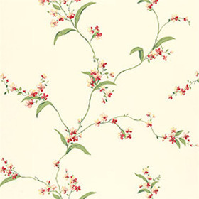 Thibaut Orchid Trail Off White T3138