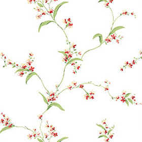 Thibaut Orchid Trail White T3135