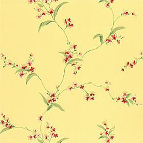 Thibaut Orchid Trail Yellow T3137