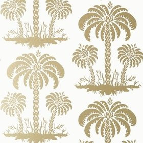 Thibaut Palm Island Metallic Gold T13165