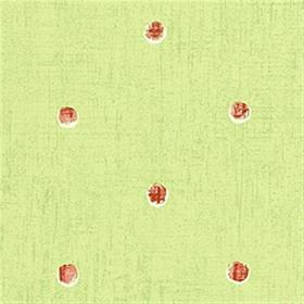 Thibaut Polka Dots Green on Pink T6159