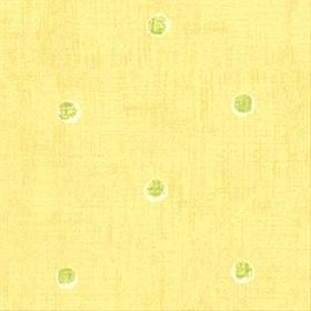 Thibaut Polka Dots Yellow and Green T6155