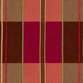 Thibaut Randolf Plaid Red and Brown W91380