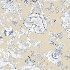 Thibaut Rittenhouse Blue and Tan F94146