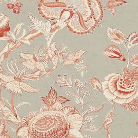 Thibaut Rittenhouse Red and Linen T4147
