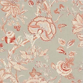 Thibaut Rittenhouse Red on Linen F94147