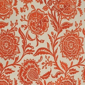 Thibaut Rivera Embroidery Coral on Flax W713047