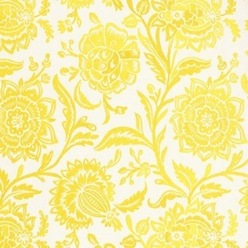 Thibaut Rivera Embroidery Yellow on Off White W713026