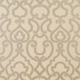 Thibaut Royal Metallic Silver on Grey 839T763