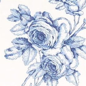 Thibaut Samantha's Bouquet Blue-White T7319
