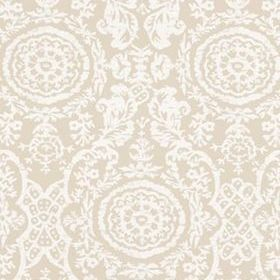 Thibaut Sansome White on Linen T4155
